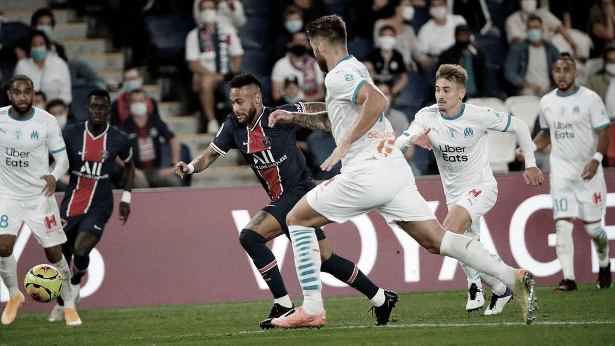 Neymar é expulso em derrota do PSG no clássico para o Olympique de Marselha