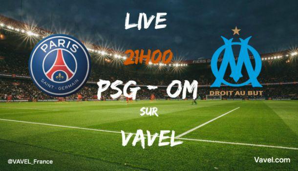 Résultat PSG 2-1 OM in 9e journée de Ligue 1