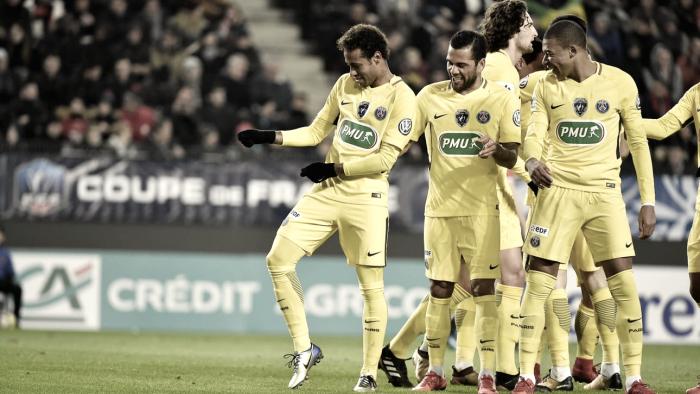 El baile del PSG: dos goles para cada uno de los tres de arriba
