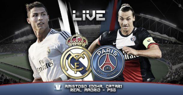 Real Madrid Paris Saint Germain