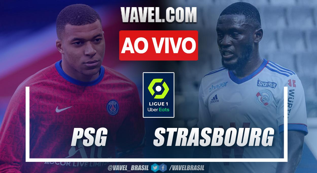 Gols e melhores momentos de PSG 4 x 2 Strasbourg pelo Campeonato Francês