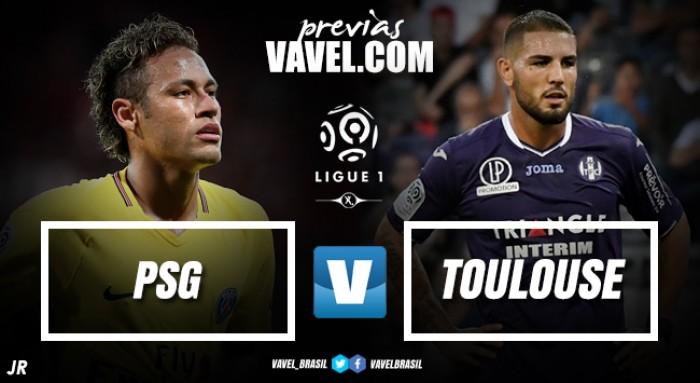 Para alcançar a liderança, PSG enfrenta Toulouse na estreia de Neymar no Parc des Princes