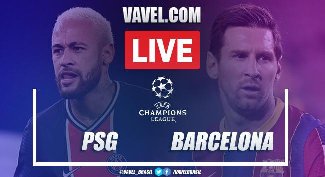 Gols e melhores momentos PSG 1 x1 Barcelonapela Champions League