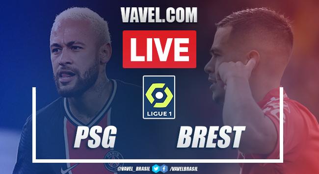 Gols e melhores momentos de PSG x Brest (3-0)