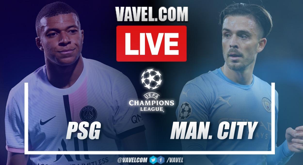 Gols e melhores momentos de PSG x Manchester City pela Champions League (2-0)