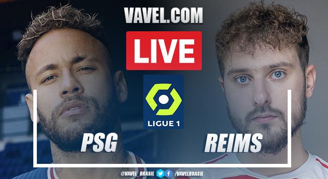 Gols e melhores momentos de PSG 4 x 0 Reims pelo Campeonato Francês