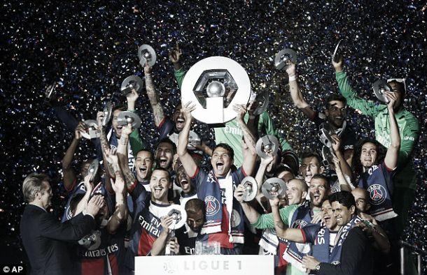 Ligue 1: Paris Saint-Germain sagra-se tricampeão nacional