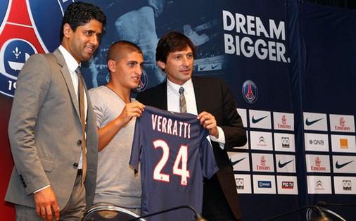 """Anche Verratti presentato a Parigi: """"Un grande orgoglio"""""""