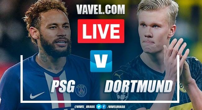 Resultado PSG x Borussia Dortmund pela Champions League (2-0)