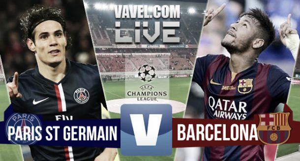 Paris Saint-Germain - Barcelona Live Result and UCL Scores 2015 ...