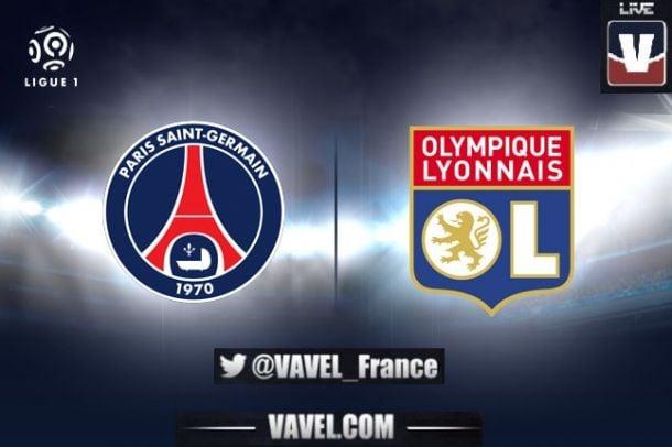 Live PSG vs OL, le match en direct