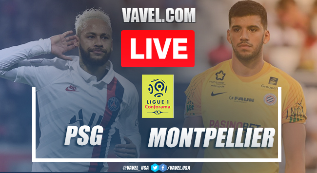 Highlights and goals: PSG 5 - 0 Montpellier HSC in 2020 Ligue 1