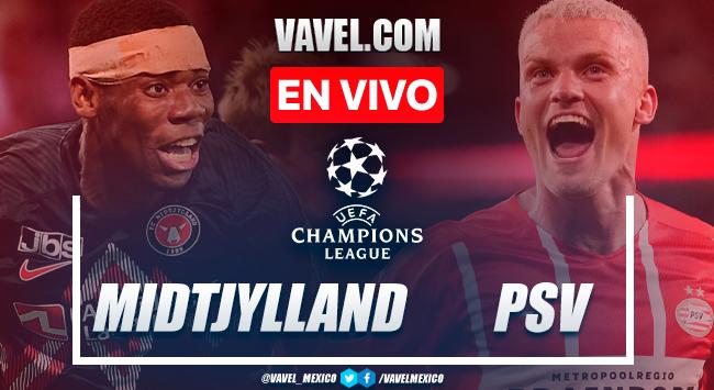 Resumen y gol: Midtjylland 0-1 PSV en clasificación de UEFA Champions League 2021