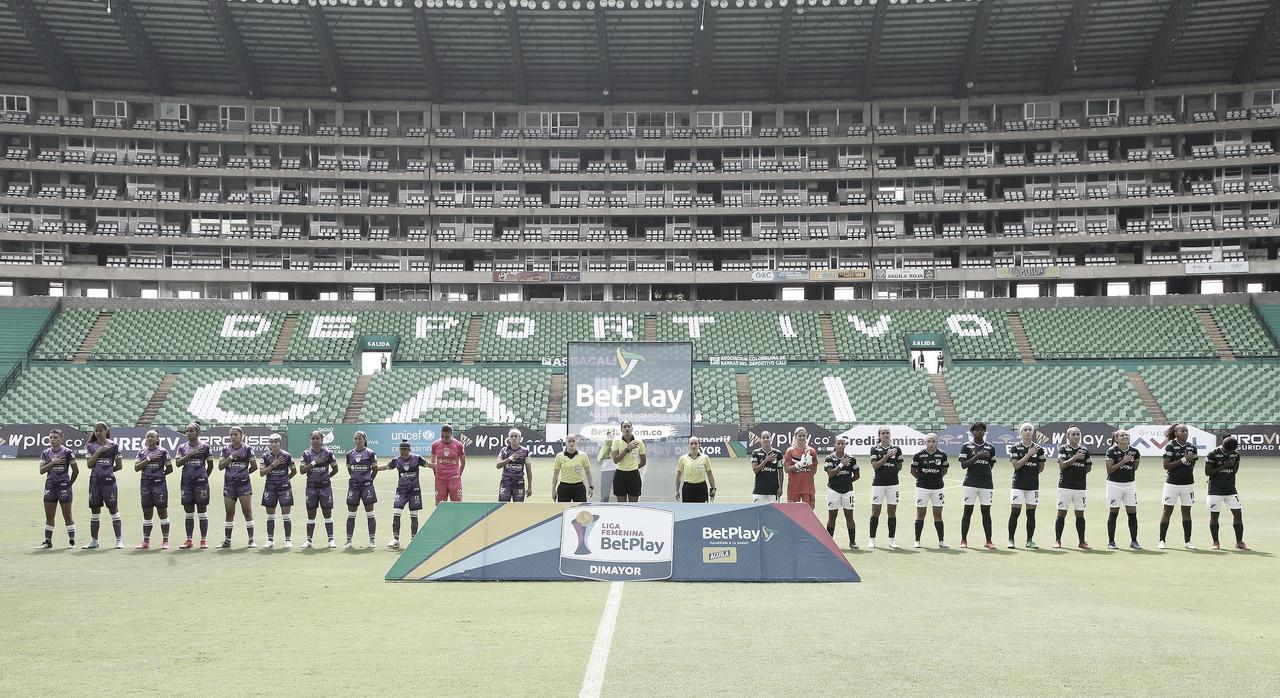 Júbilo verde; Deportivo Cali venció a La Equidad en condición de local