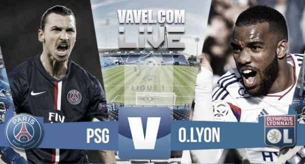 PSG vs Olympique de Lyon en vivo y en directo online en la Supercopa de Francia 2015 (2-0)