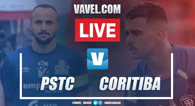 Resultado PSTC 0 x 1 Coritiba pelo Campeonato Paranaense