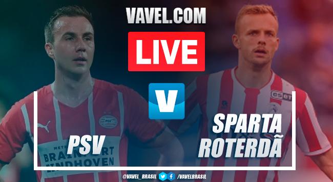 Gols e melhores momentos PSV 2x1 Sparta Rotterdam pela Eredivisie