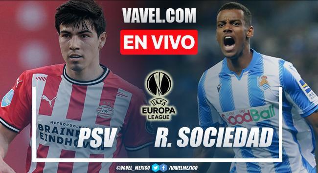 Goles y resumen del PSV 2-2 Real Sociedad en UEFA Europa League