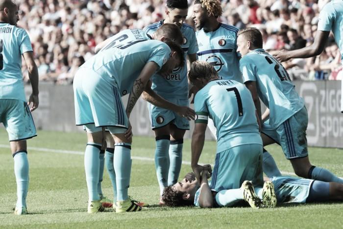 Com gol de zagueiro brasileiro, Feyenoord vence clássico com PSV e abre vantagem na liderança