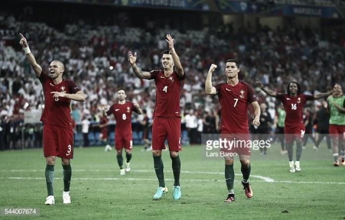 Patrício defende e Quaresma carimba: Portugal nas «meias» do EURO 2016