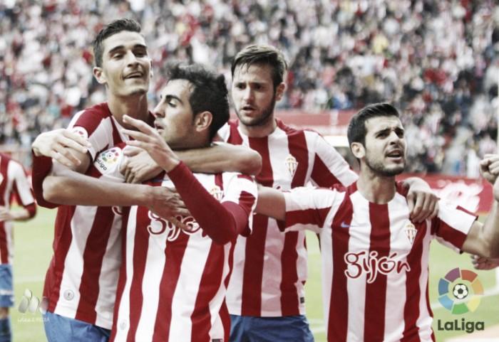 Sporting de Gijón - Valencia CF: puntuaciones Sporting, jornada 8 La Liga 2016
