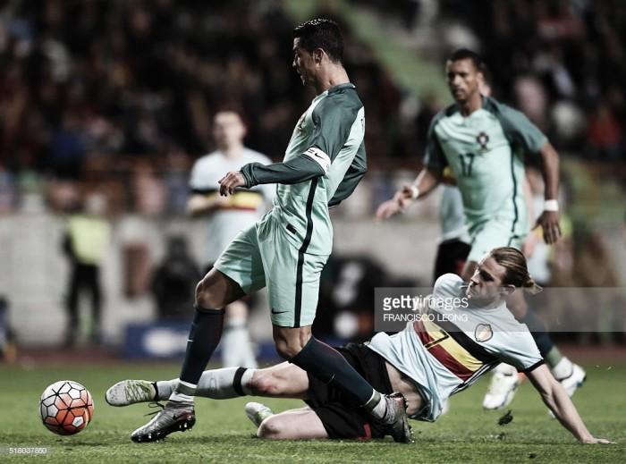 Portugal bate Bélgica por 2-1: CR7 e Nani, o símbolo de categoria, classe e ambição lusa
