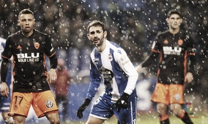 Deportivo de La Coruña - Valencia CF: puntuaciones del Deportivo, jornada 19 de La Liga
