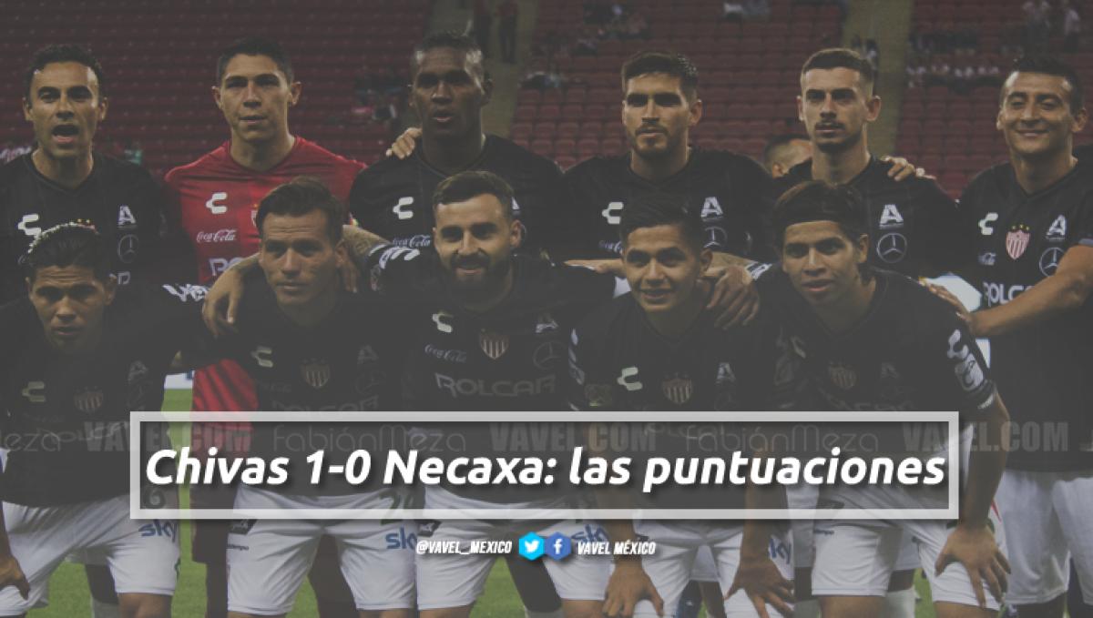Chivas 1-0 Necaxa: puntuaciones de Necaxa en la jornada 5 de la Liga MX Apertura 2018