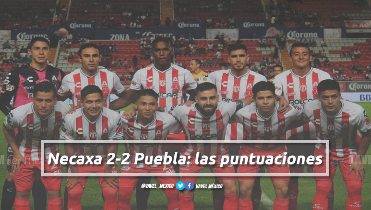 Necaxa 2-2 Puebla: puntuaciones de Necaxa en la jornada 5 de la Liga MX Apertura 2018