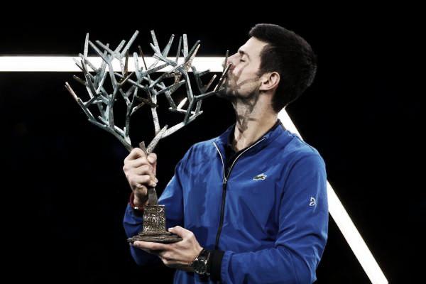 Djokovic se consagró campeón de París-Bercy