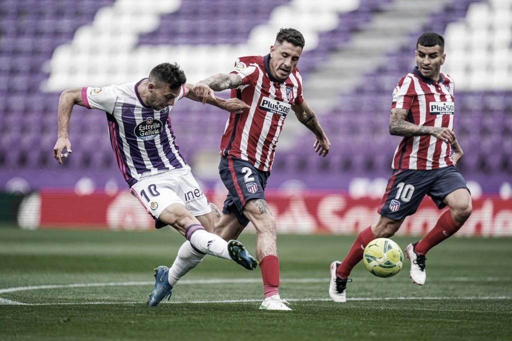 Real Valladolid 1-2 Atlético de Madrid: celebraciones y decepciones en Zorrilla