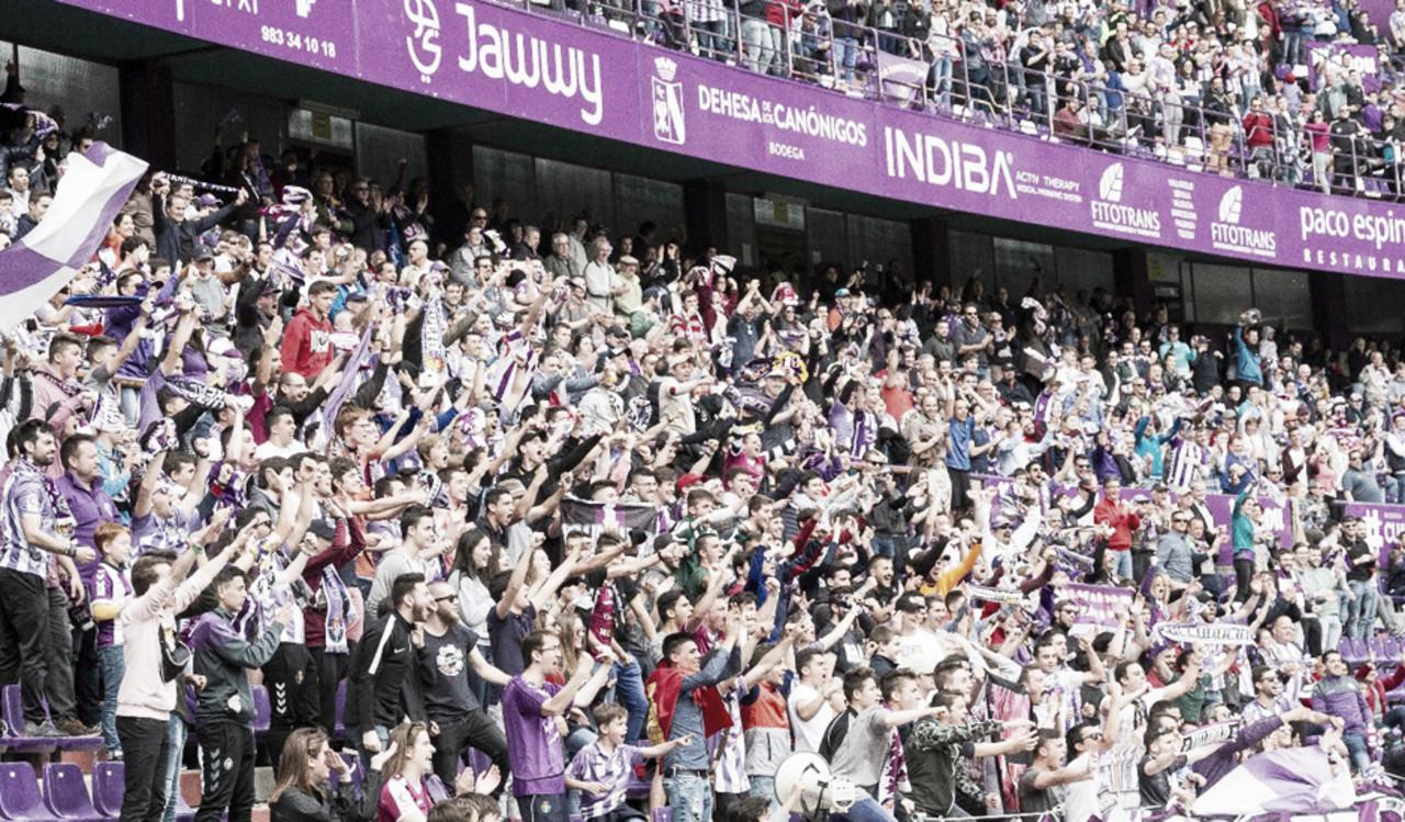 Zorrilla se llenará ante el Atlético