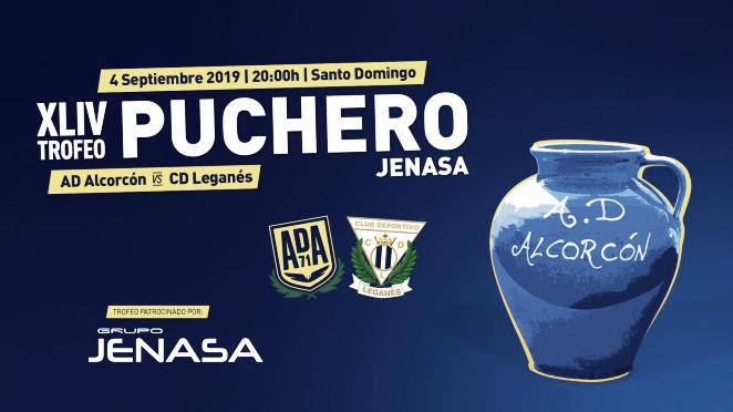 El CD Leganés disputará el Trofeo Puchero frente a la AD Alcorcón