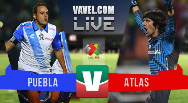 Resultado Puebla - Atlas en Liga MX 2015 (0-1)