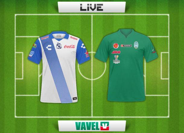 Resultado Puebla - Mérida en Copa MX 2015 (2-1)