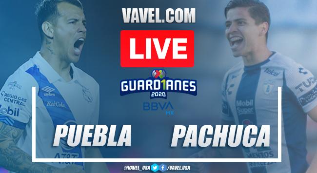 Goal and Highlights: Puebla 0-1 Pachuca, 2020 Liga MX