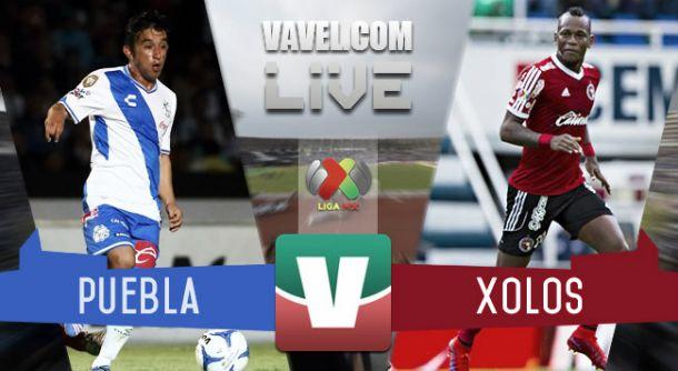 Resultado Puebla - Xolos Tijuana (2-1)