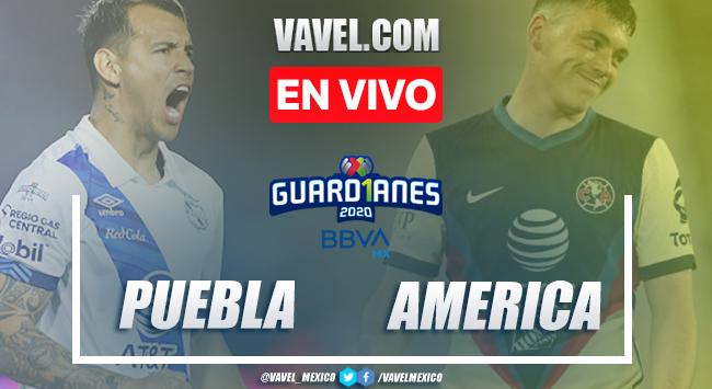 Puebla 2-3 América: goles y resumen Liga MX 2020