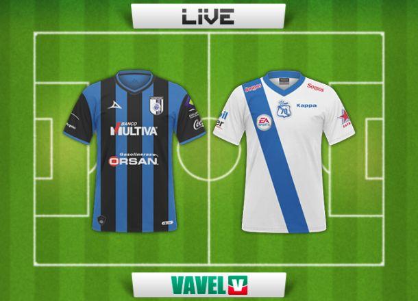 Resultado Querétaro - Puebla en Liga MX 2014 (1-1)
