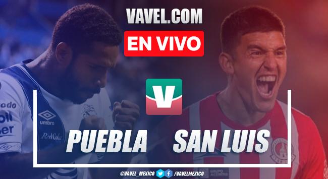 Resumen y goles: Puebla 1-3 Atlético de San Luis en Liga MX 2019