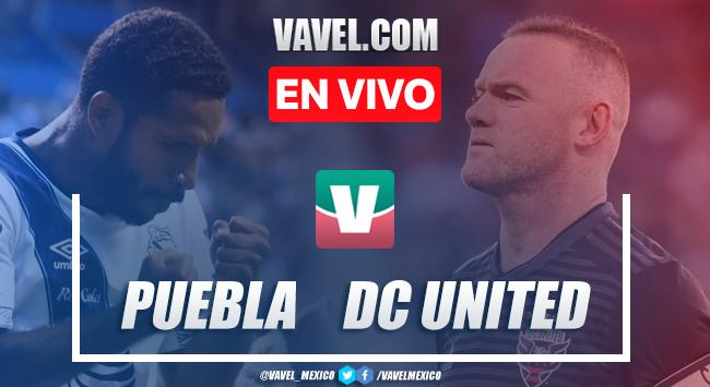 Resumen y goles: Puebla 1-1 DC United en Amistoso 2019