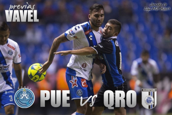 Previa Puebla - Querétaro: iniciala era Meza