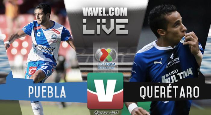 Resultado y goles del Puebla 2-2 Querétaro del la Liga MX 2017