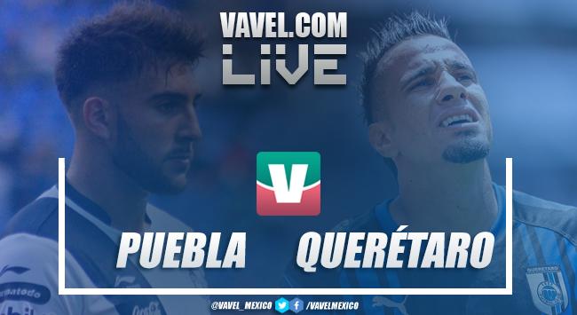 Resultado y gol del Puebla 1-0 Querétaro en La Liga Mx 2019