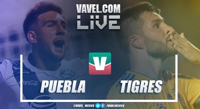Resumen del Puebla 1-1 Tigres de la Liga MX 2019