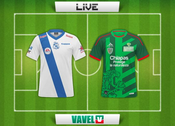 Resultado Puebla - Chiapas en Liga MX 2014 (1-1)
