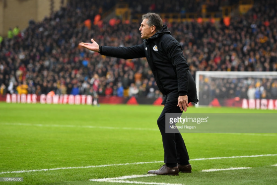 Claude Puel reacts to 'unbelievable game' as his side loses against Wolves