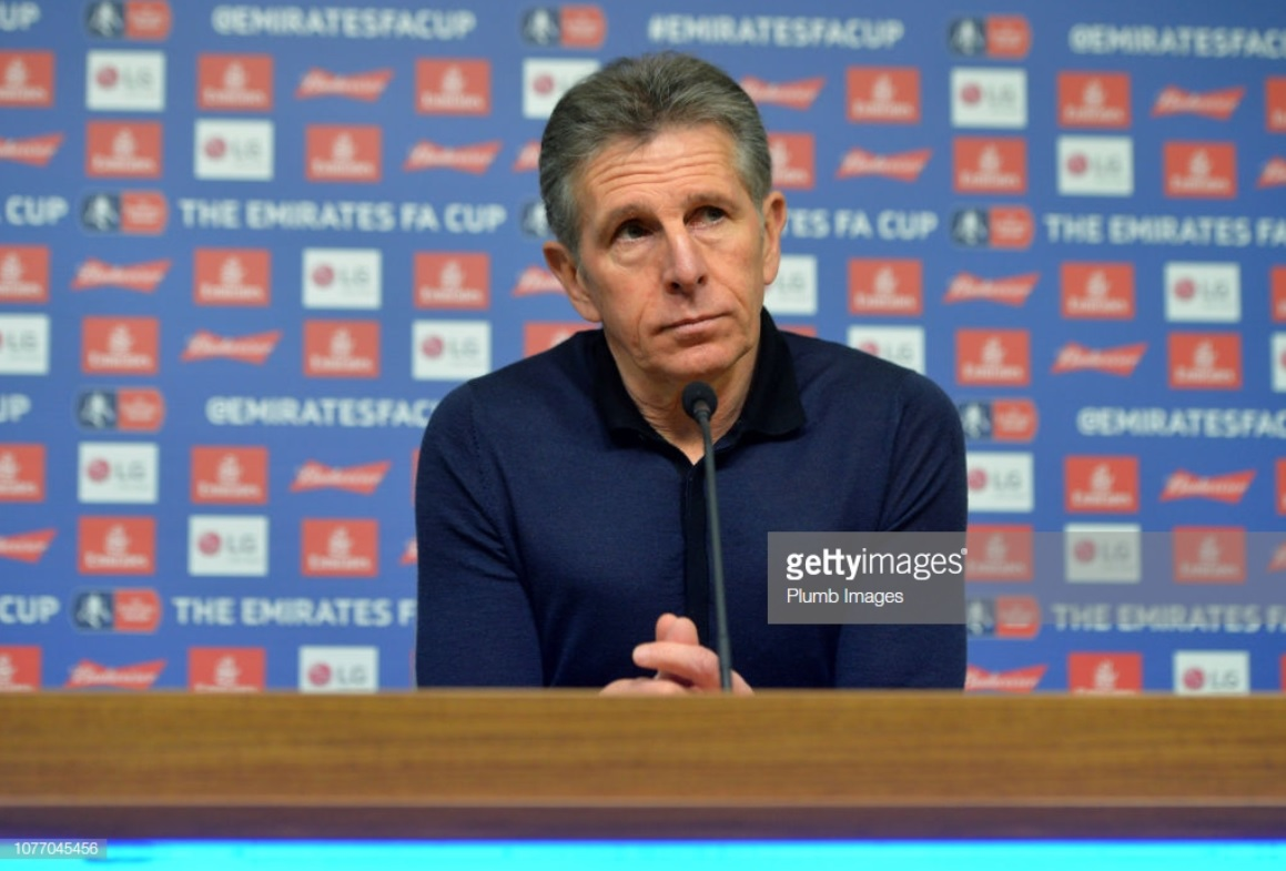 Claude Puel admits upset could be 'possible' against Newport County