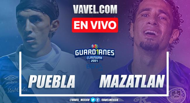 Puebla vs Mazatlán FC en vivo cómo ver transmisión TV online en Jornada 14 Liga MX 2021 (0-0)