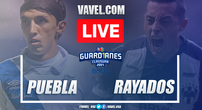 Goals and Highlights of Puebla 0-0 Rayados on Guard1anes 2021